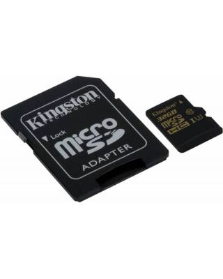 Флеш карта microSDHC 32Gb Class10 Kingston SDCG/32GB + adapter