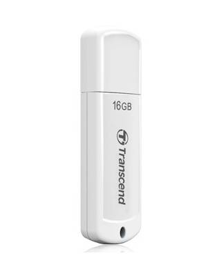 Флеш Диск Transcend 16Gb Jetflash 370 TS16GJF370 USB2.0 белый